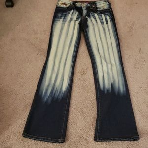 Baby Phat Bleached Washed Jeans